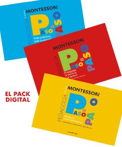 Montessori. Colección Paso a Paso. Vida práctica, vida sensorial, matemáticas, lectoescritura